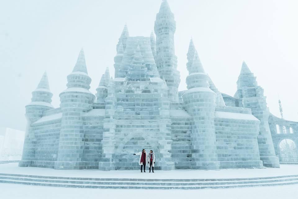 Thách thức bản thân với chuyến đi đến Thành phố băng siêu đẹp của Trung Quốc: Lúc lạnh nhất có thể xuống tới -40 độ! - Ảnh 9.