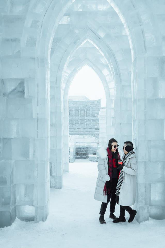 Thách thức bản thân với chuyến đi đến Thành phố băng siêu đẹp của Trung Quốc: Lúc lạnh nhất có thể xuống tới -40 độ! - Ảnh 17.