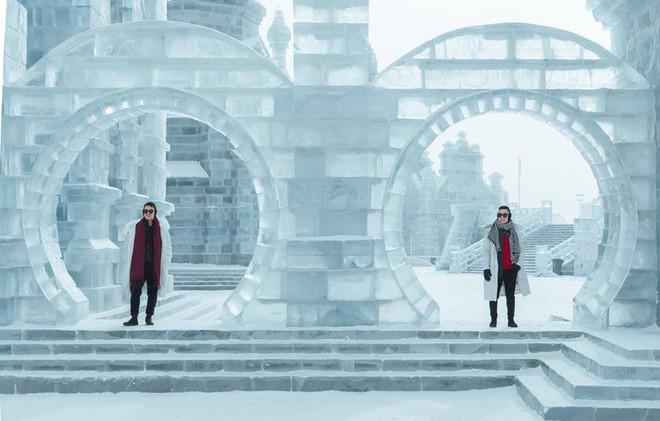 Thách thức bản thân với chuyến đi đến Thành phố băng siêu đẹp của Trung Quốc: Lúc lạnh nhất có thể xuống tới -40 độ! - Ảnh 19.