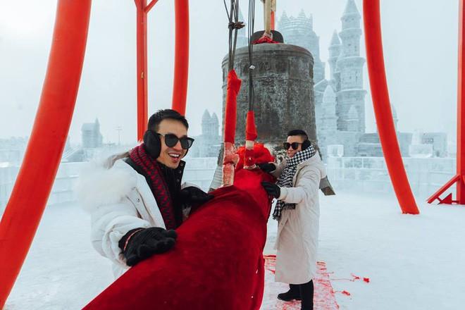 Thách thức bản thân với chuyến đi đến Thành phố băng siêu đẹp của Trung Quốc: Lúc lạnh nhất có thể xuống tới -40 độ! - Ảnh 20.