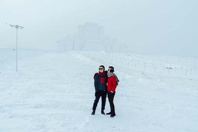 Thách thức bản thân với chuyến đi đến Thành phố băng siêu đẹp của Trung Quốc: Lúc lạnh nhất có thể xuống tới -40 độ! - Ảnh 23.