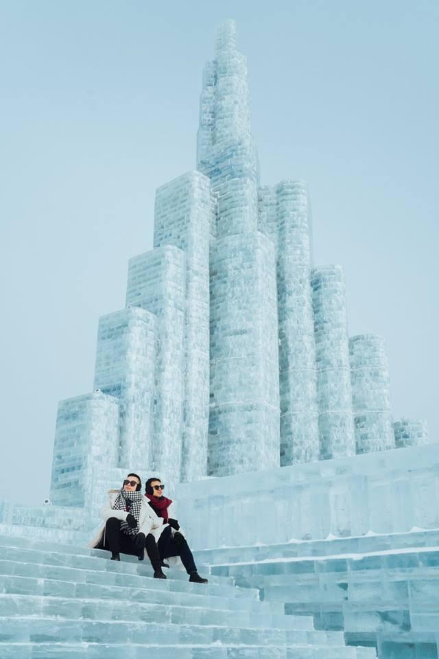 Thách thức bản thân với chuyến đi đến Thành phố băng siêu đẹp của Trung Quốc: Lúc lạnh nhất có thể xuống tới -40 độ! - Ảnh 25.