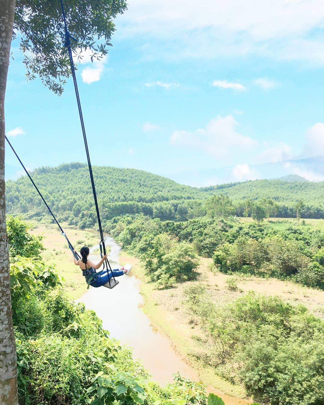 """Cần gì đến Bali, tại Việt Nam cũng có xích đu gỗ view trọn thung lũng tha hồ cho bạn """"thót tim"""" bay lượn! - Ảnh 14."""