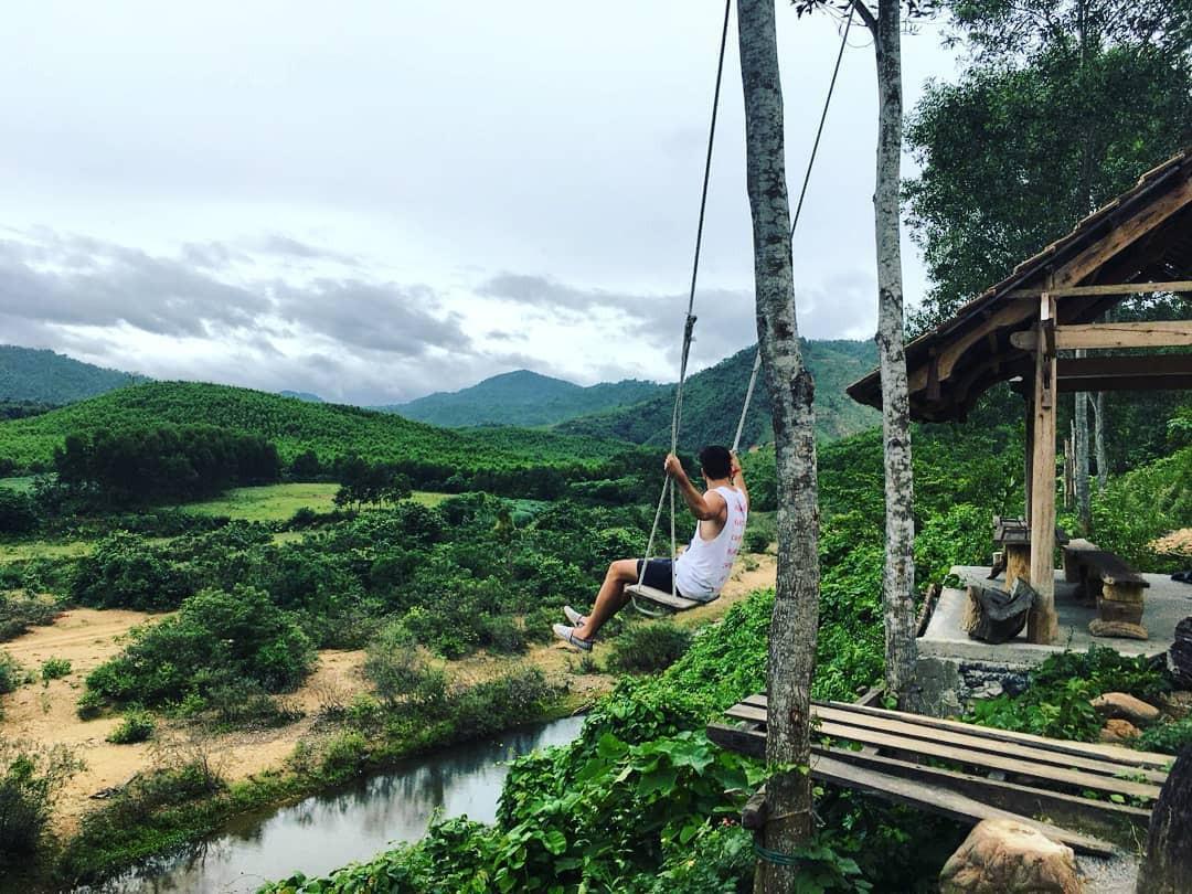 """Cần gì đến Bali, tại Việt Nam cũng có xích đu gỗ view trọn thung lũng tha hồ cho bạn """"thót tim"""" bay lượn! - Ảnh 17."""