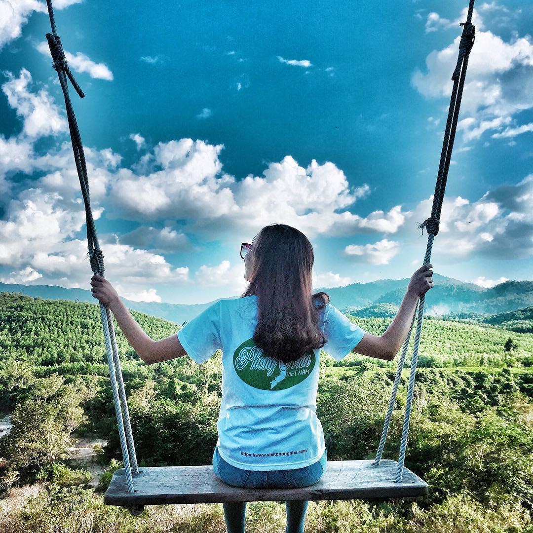 """Cần gì đến Bali, tại Việt Nam cũng có xích đu gỗ view trọn thung lũng tha hồ cho bạn """"thót tim"""" bay lượn! - Ảnh 19."""