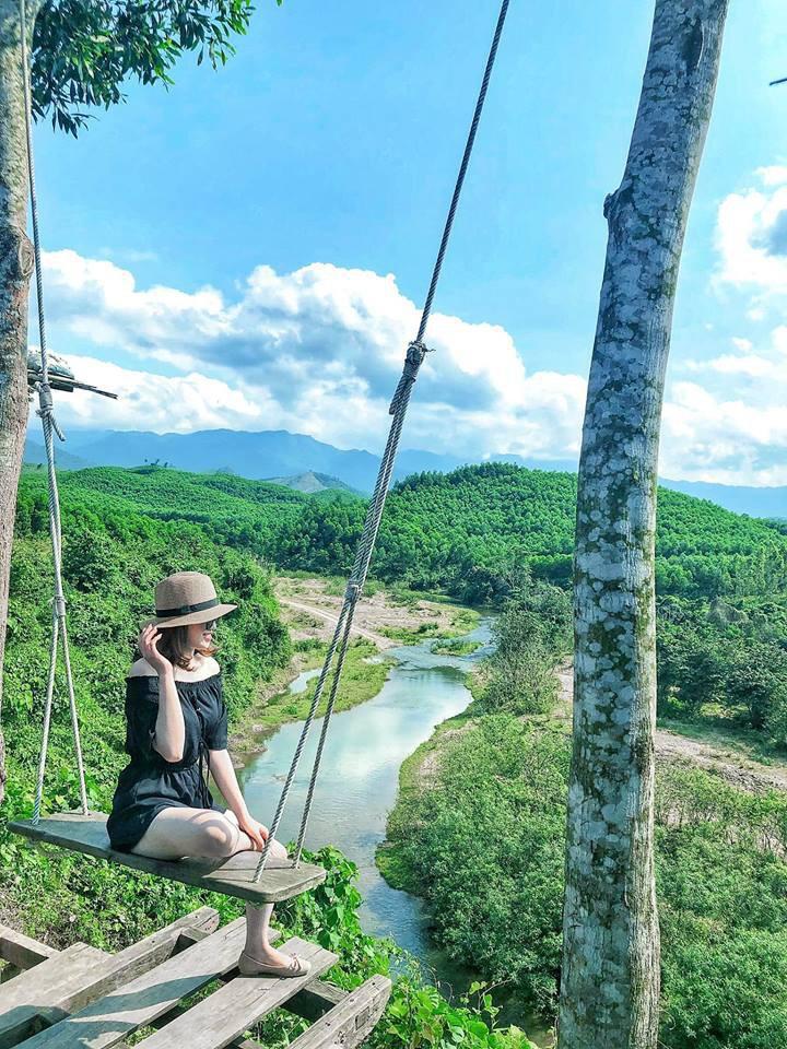 """Cần gì đến Bali, tại Việt Nam cũng có xích đu gỗ view trọn thung lũng tha hồ cho bạn """"thót tim"""" bay lượn! - Ảnh 20."""
