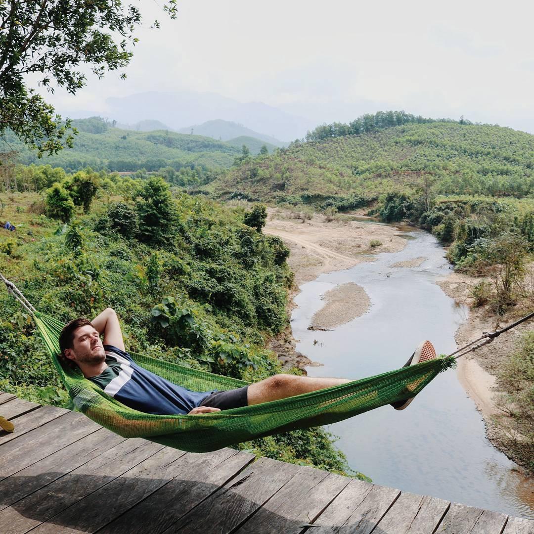 """Cần gì đến Bali, tại Việt Nam cũng có xích đu gỗ view trọn thung lũng tha hồ cho bạn """"thót tim"""" bay lượn! - Ảnh 21."""