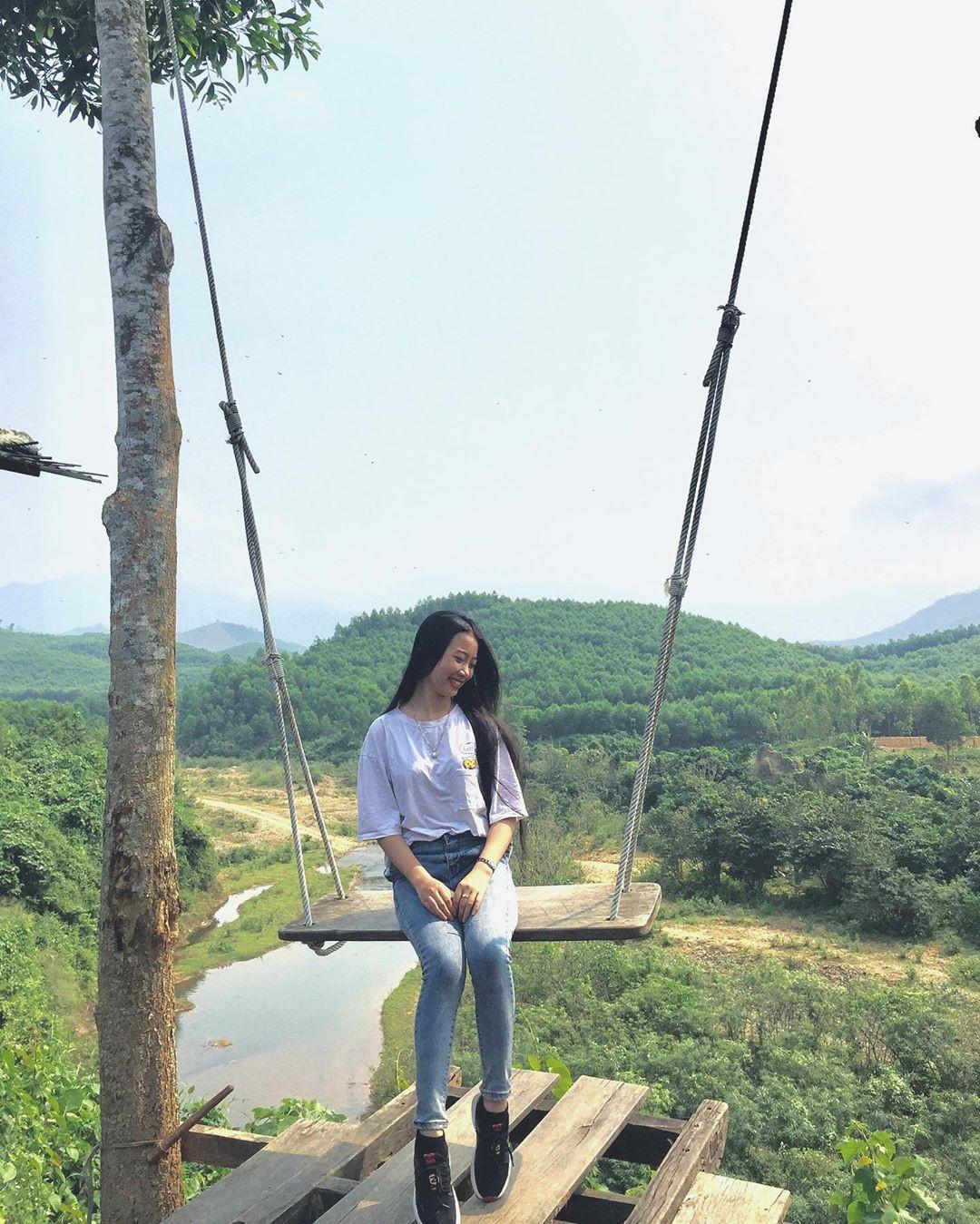 """Cần gì đến Bali, tại Việt Nam cũng có xích đu gỗ view trọn thung lũng tha hồ cho bạn """"thót tim"""" bay lượn! - Ảnh 26."""
