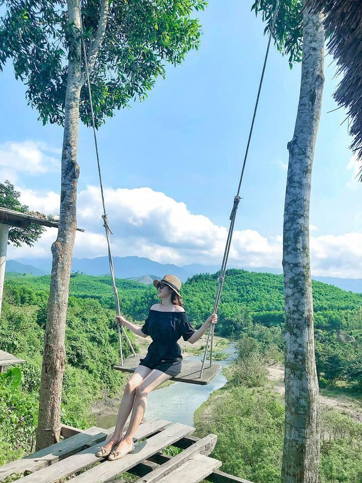 """Cần gì đến Bali, tại Việt Nam cũng có xích đu gỗ view trọn thung lũng tha hồ cho bạn """"thót tim"""" bay lượn! - Ảnh 9."""