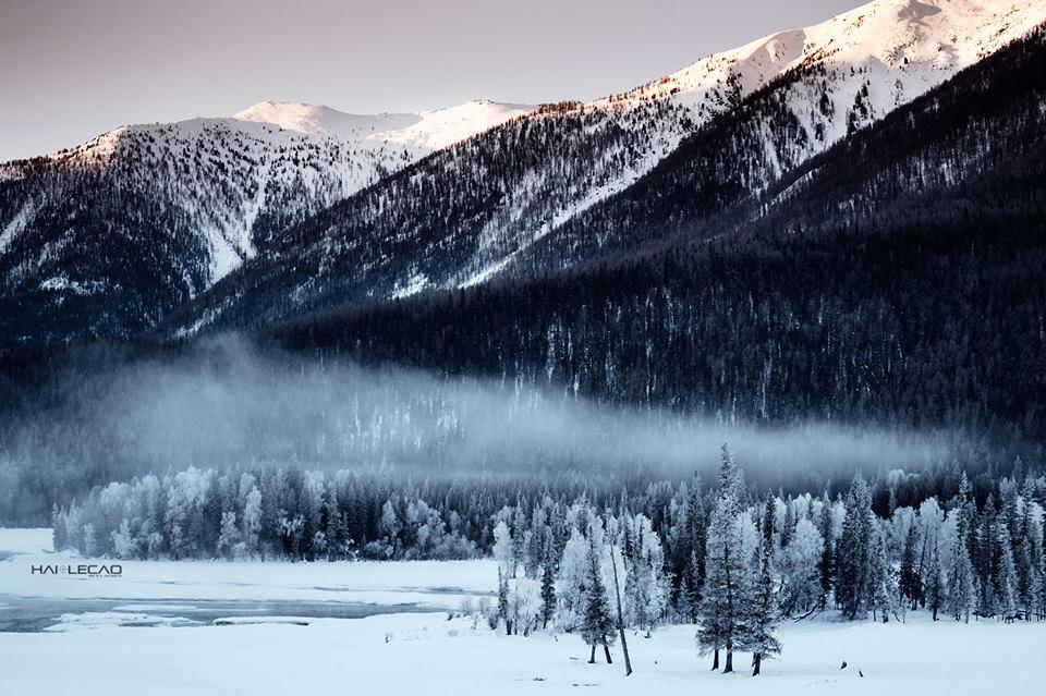 Lạnh -21 độ C nhưng vẫn đẹp tê tái, Tân Cương (Trung Quốc) quả không hổ danh đẹp hơn tranh vẽ! - Ảnh 18.
