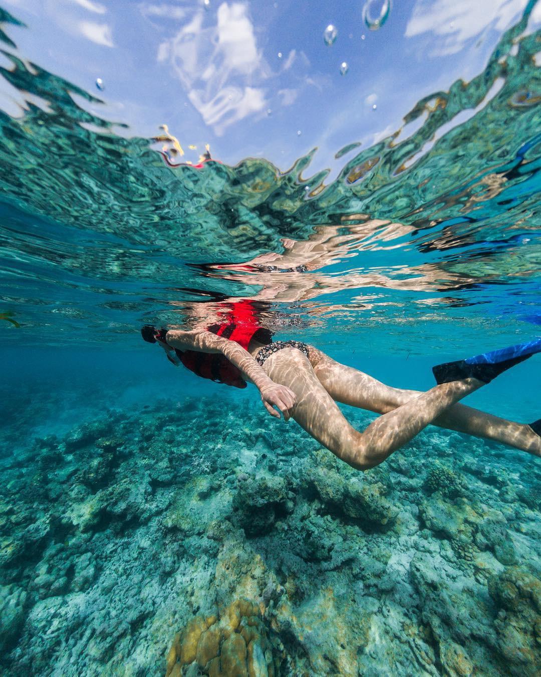 Bộ ảnh thiên đường hạ giới Maldives vừa được cô gái Việt Nam check in trông cũng rất gì và này nọ - Ảnh 11.