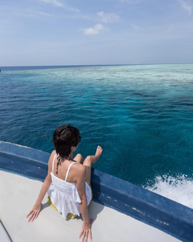 Bộ ảnh thiên đường hạ giới Maldives vừa được cô gái Việt Nam check in trông cũng rất gì và này nọ - Ảnh 8.