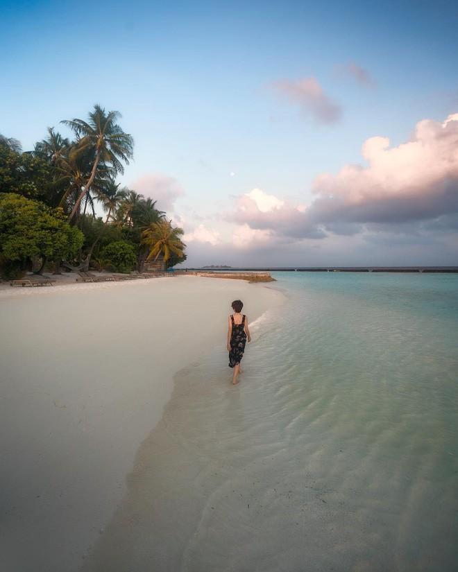 Bộ ảnh thiên đường hạ giới Maldives vừa được cô gái Việt Nam check in trông cũng rất gì và này nọ - Ảnh 9.